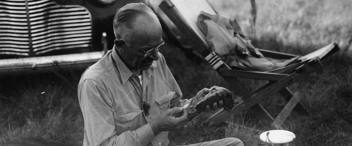 Photograph of Aldo Leopold